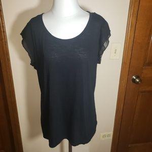 Style & Co Women's Black Top Sz XL